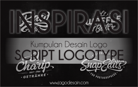 Kumpulan Desain Logo Script Logotype