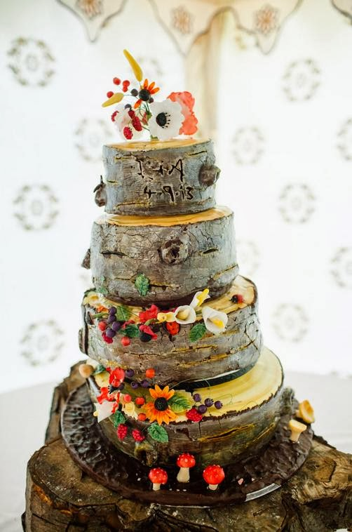 boda eco bosque inglés lesbianas tarta boda arbol
