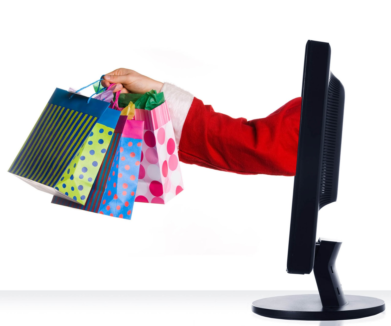 Holiday shopping online