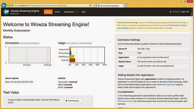 Streaming server download | wowza media systems.