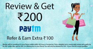 Fill Survey And Get Rs.200 Paytm Cash + Refer And Earn Rs.100 Paytm Cash