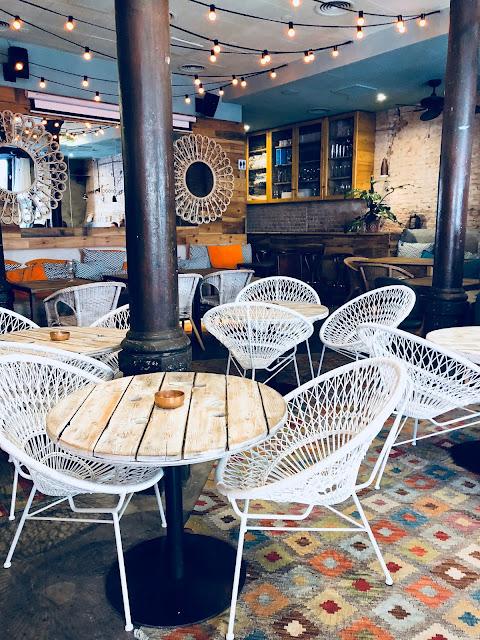 AlSur Café Backdoor Bar
