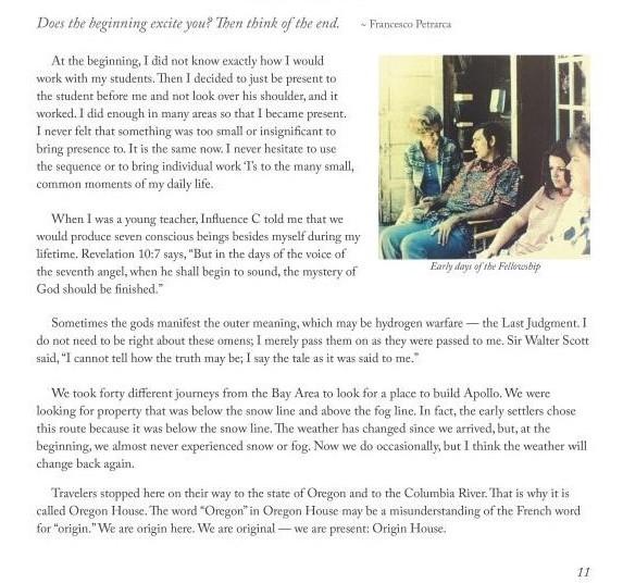 "Fellowship of Friends cult leader Robert Earl Burton renames Oregon House, ""Origin House"""