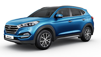The all new Hyundai Tucson Luxury SUV wallpaper 0