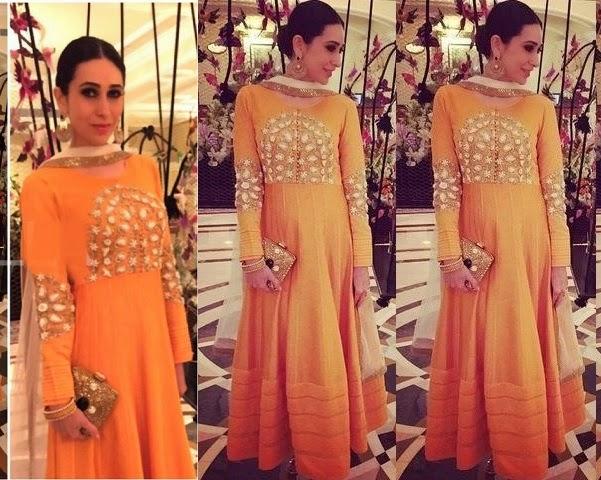 Celebrities In Indian Designers Anarkali Churidar Suits