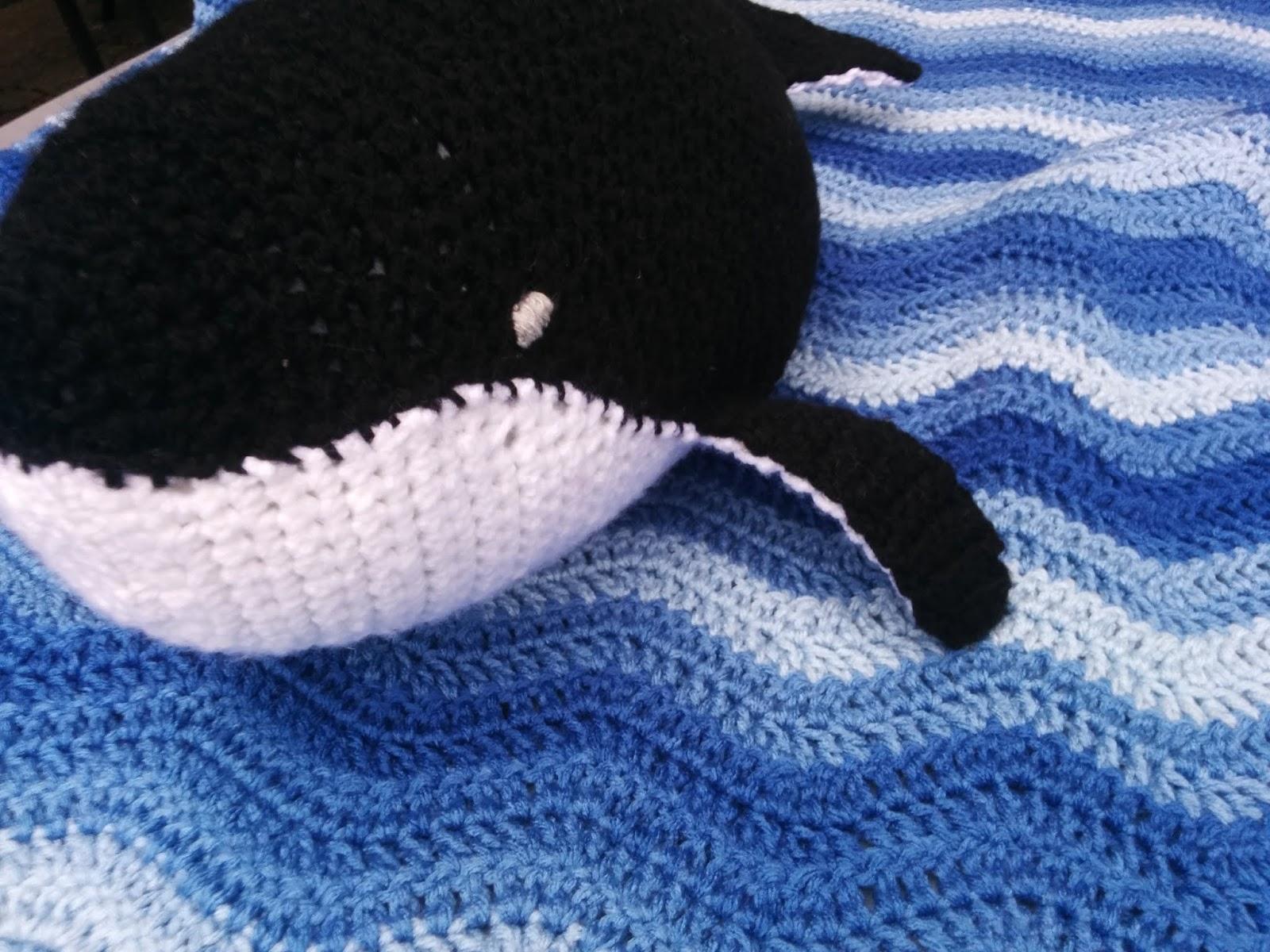 Whitney Knits Free Crochet Whale Pattern