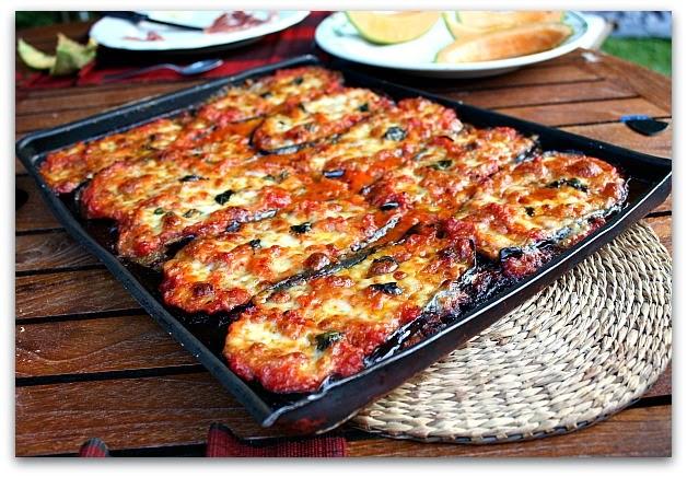 Un dimanche a la campagne le tube de l t aubergines la parmigiana - Cucina gloria mercatone uno ...