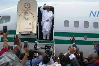 President Buhari's Arrival Currently Shrouded in Secrecy