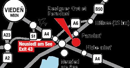 95d7b65a7a Výpredaje v PARNDORFE - Outlet McArthurGlen v Rakúsku