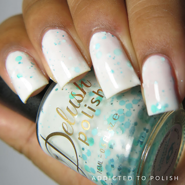 Delush Polish Breakfast at Tea-ffany's High and Mightea Swatches