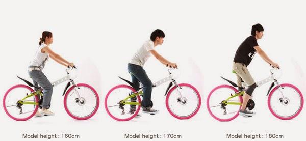 Sepeda Gunung Lipat Doppelganger 704 Noel 26 Inci