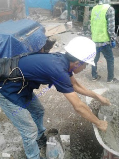 Untuk mendapatkan hasil pengecoran yang baik disarankan setiap pengecoran harus menggunakan pompa beton.