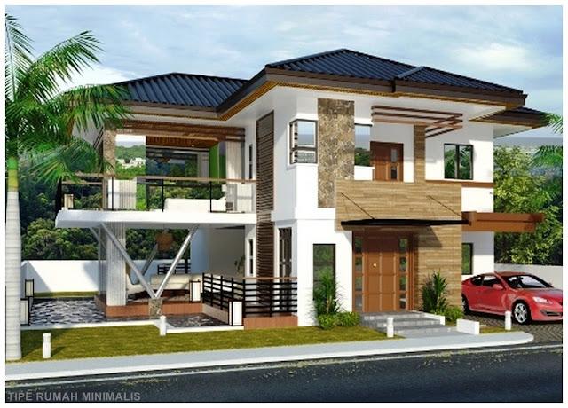 Home Design Interior Singapore Rumah 2 Lantai Dengan Batu Alam