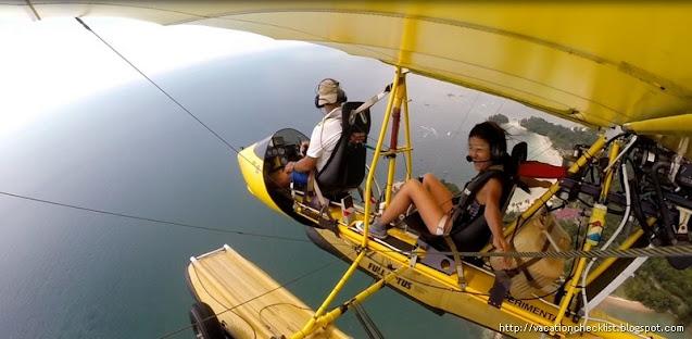 Seaplane in Bintan Indonesia