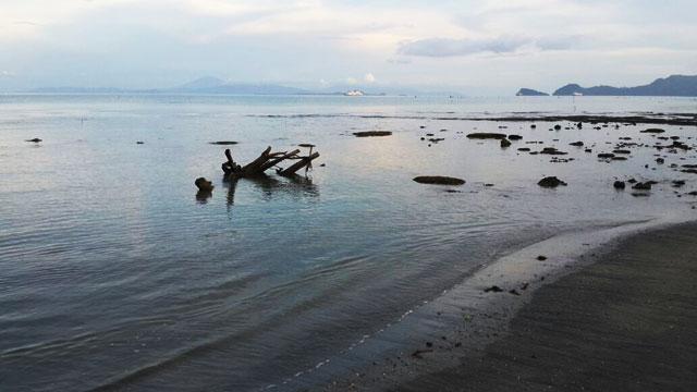 pantai alami