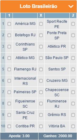 BETMOTION - BRASILEIRÃO SÉRIE A 01 - 37ª RODADA