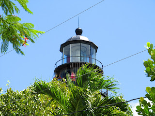 the lighthouse in Key West Florida