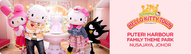 Hello Kitty Town Nusajaya