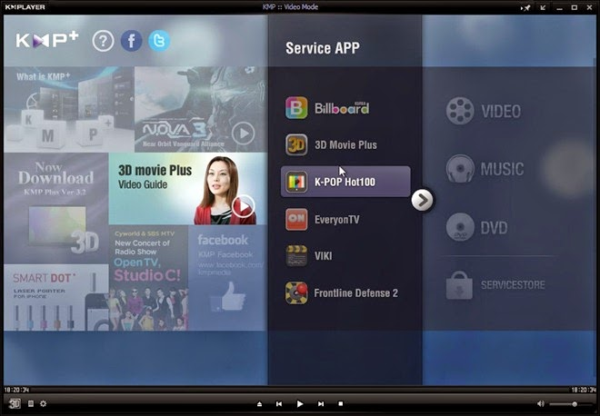 The kmplayer download pc
