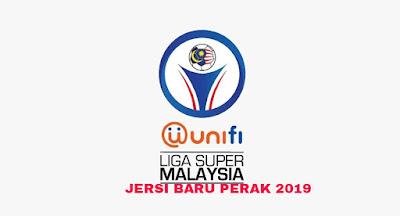 Gambar Rekaan dan Harga Jersi Baru Perak 2019