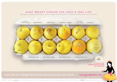 breast cancer lemon