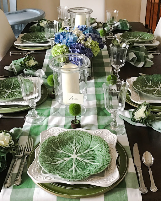 Garden Cabbage Table