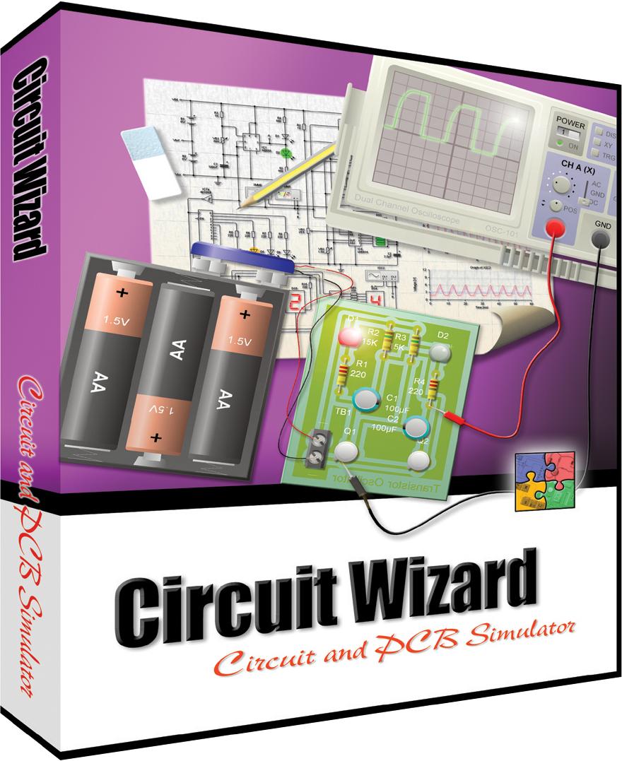 Descargar simulador de circuito liverwire, PCB wizard y circuit wizard ultima versión