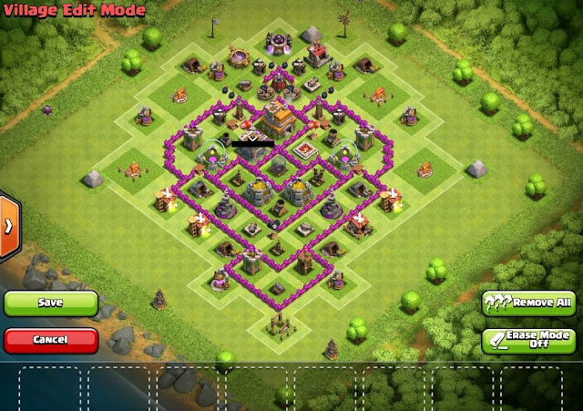 Base terbaik TH 7