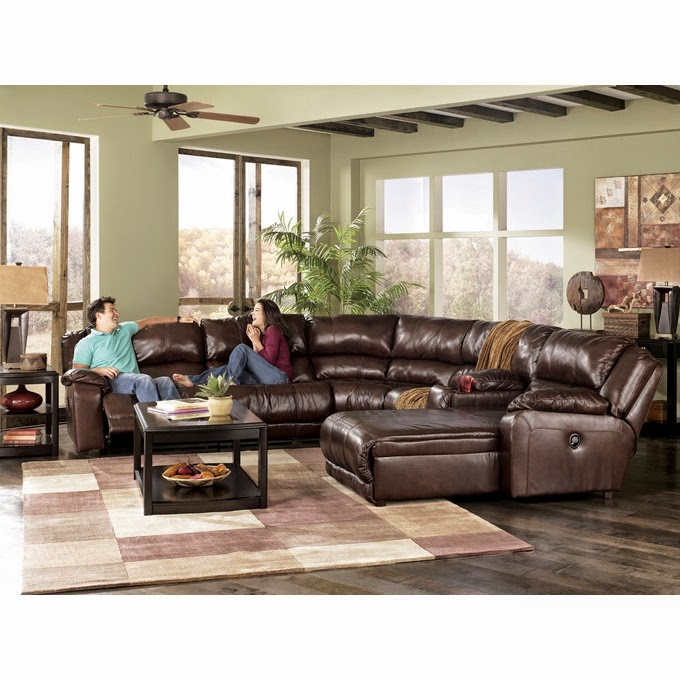 Buy Online Direct: Braxton Java Sectional Review: Ashley