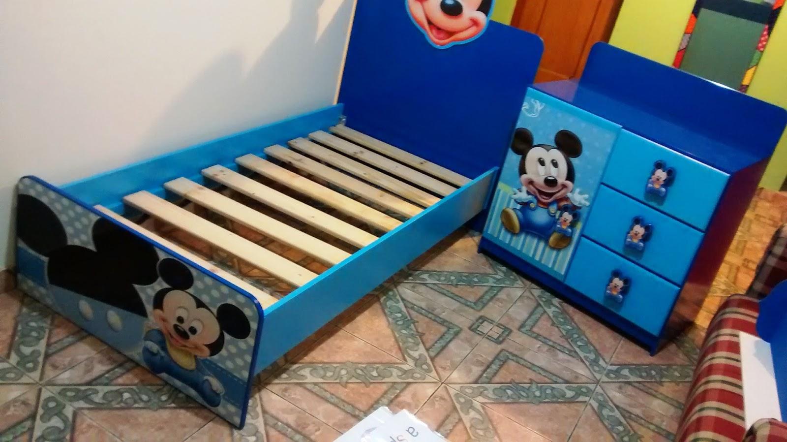 Galeria arte y dise o madekids camas infantiles - Muebles de mickey mouse ...