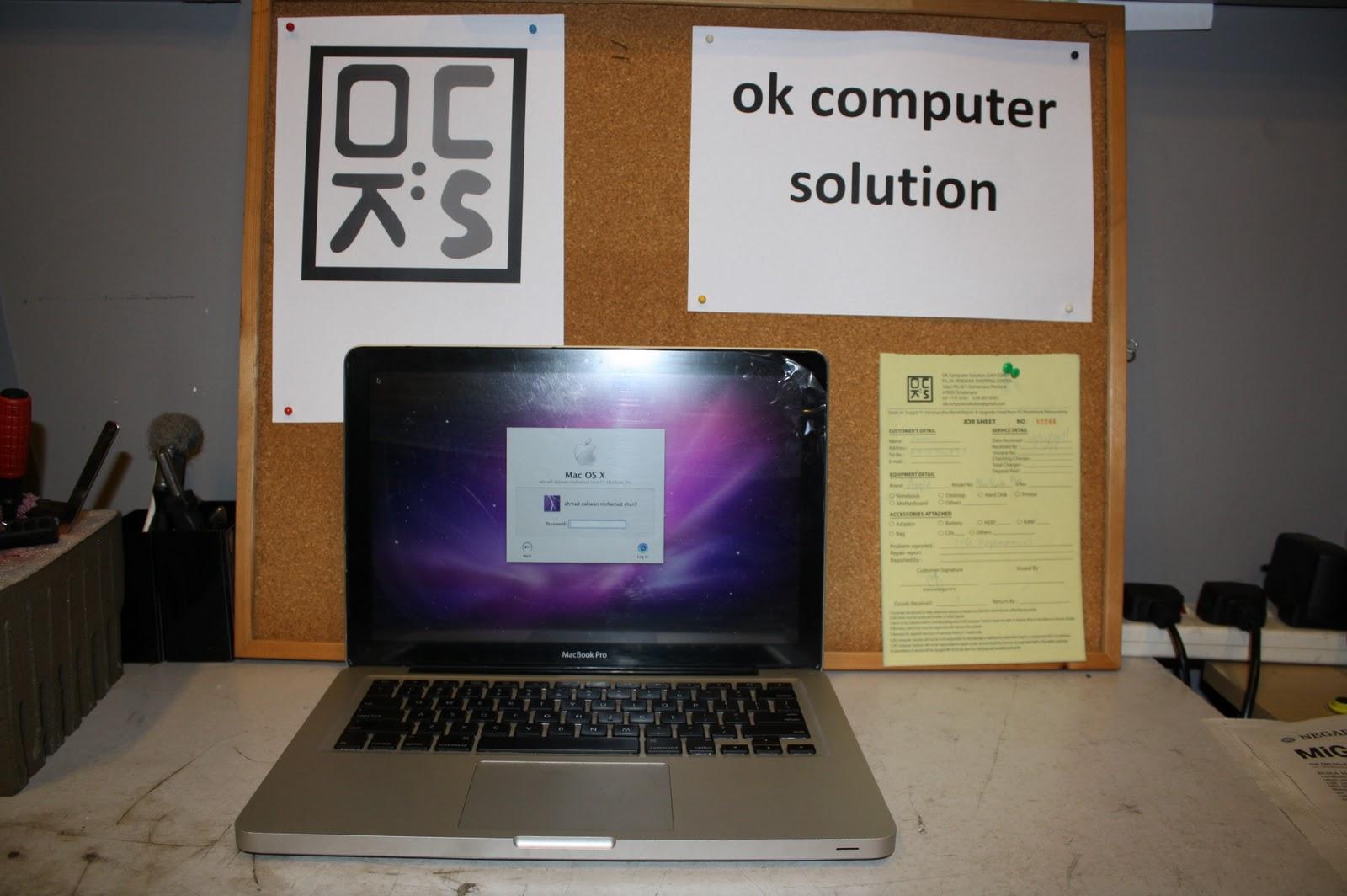 OK Computer Solution Pulau Pinang Menukar LED Skrin