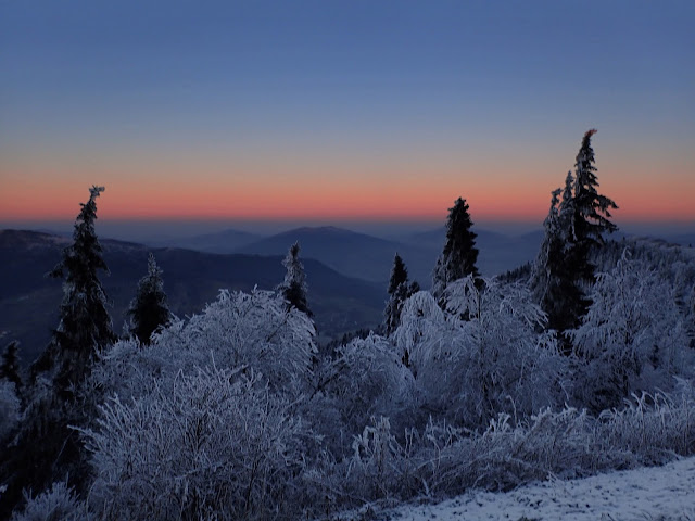 Panorama ze szczytu (Luboń Wielki)