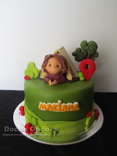 Bolo para o aniversário da campista Mariana