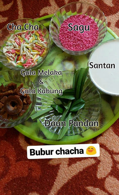 Resepi Bubur Chacha
