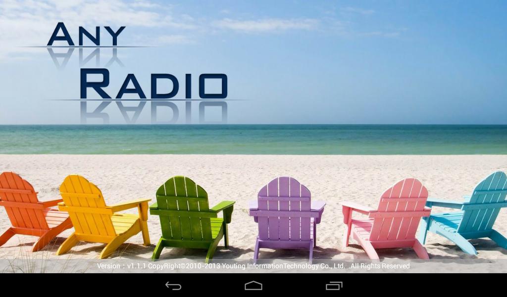 APK OPENSOURCE: Any Radio v  1 1 1