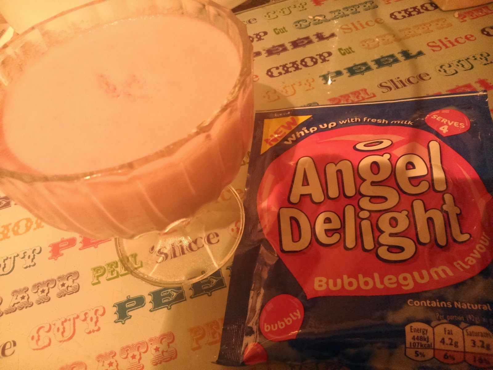 angel delight bubblegum review