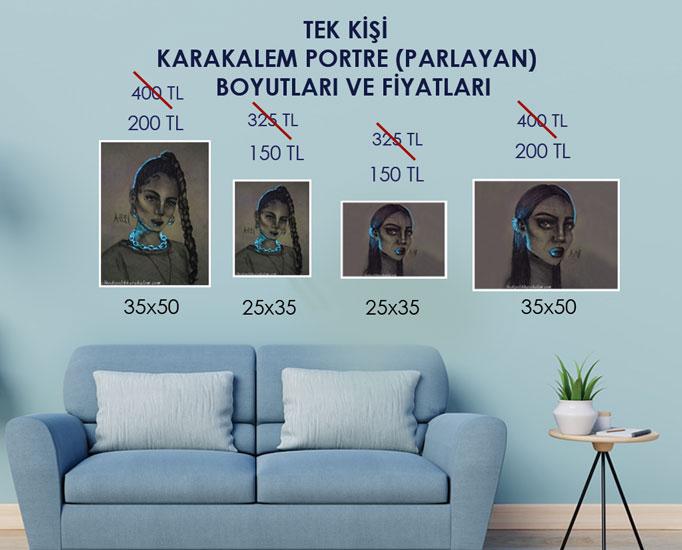 KARAKALEM PORTRE SİPARİŞ VE KARAKALEM PORTRE FİYATLARI