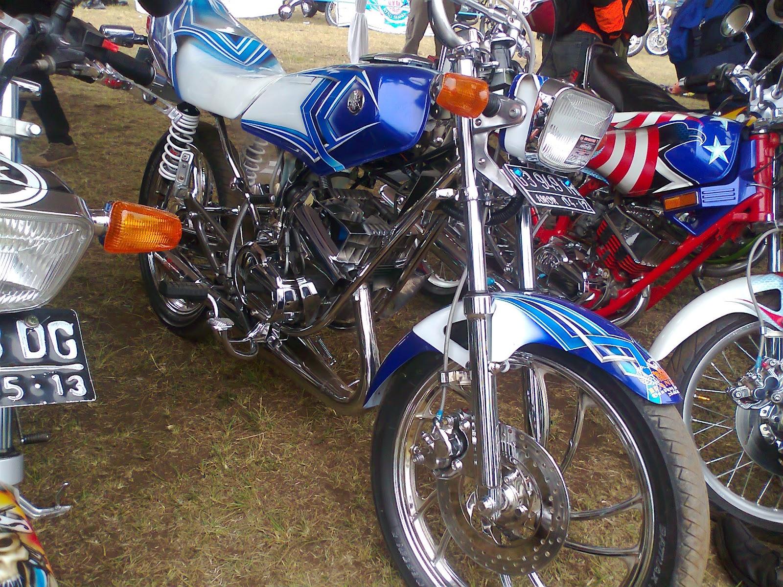 Yamaha Rx King Full Modifikasi Modifikasi Motor Yamaha