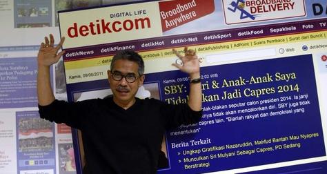 Budiono Darsono - Pendiri Detik.com Media Berita Online Terbesar di Indonesia