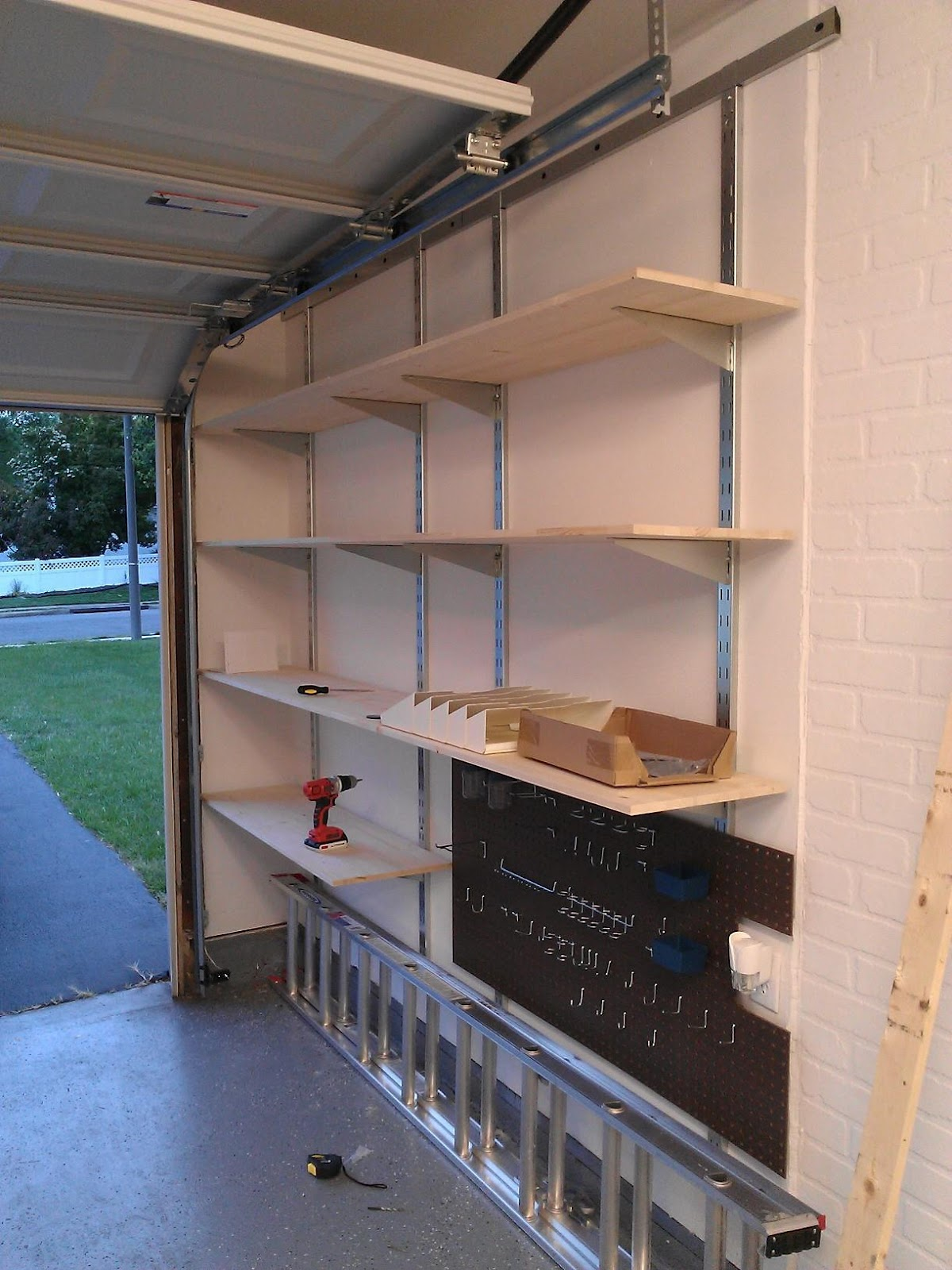 Ikea Garage Shelving J 43 A Before And After Garage