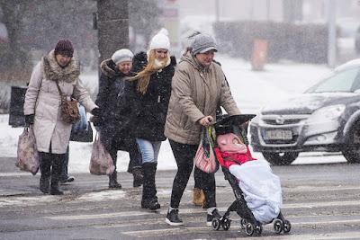 Європа, снігопади