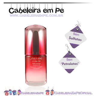 Power Infusing Concentrate - Shiseido (Sem Sulfatos e Sem Petrolatos)