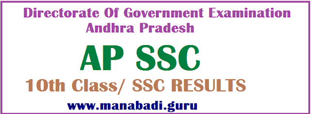 SSC Results.AP Results, AP State Board Secondary School Certificate, AP 10th Class, TS SSC, AP State