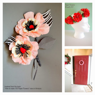 paper flowers tutorials