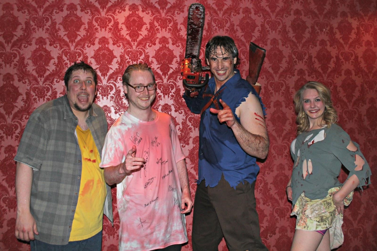 4594b10478e7 Evil Dead - The Musical (Ultimate 4D Las Vegas Experience) Review ...