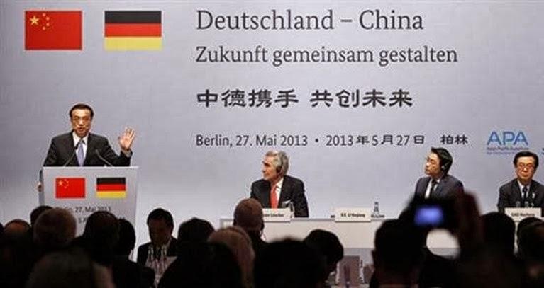 Συνεργασία Γερμανίας - Κίνας, Μάιος 2013