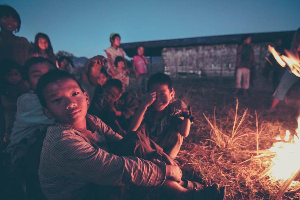 Nagaland Konyak Children Longwa