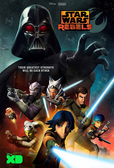 Poster Star Wars Rebels Sezonul 2