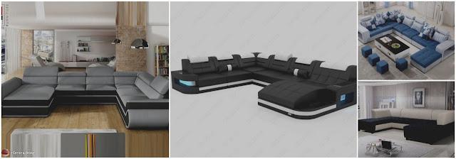 30 Beautiful U Sofa Design Ideas