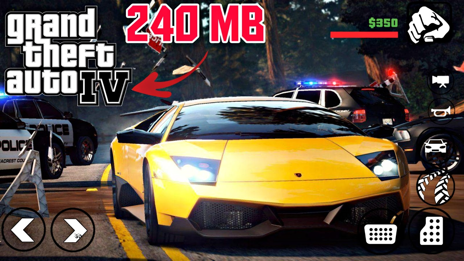 GTA 4 MOD PACK 250 MB ONLY - TECHNICAL EVER YT